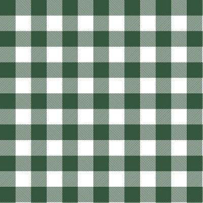 Green/White Check