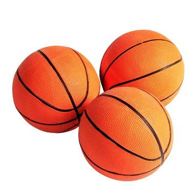 "MD Sports 7"" Rubber Basketballs 3pk - Orange"