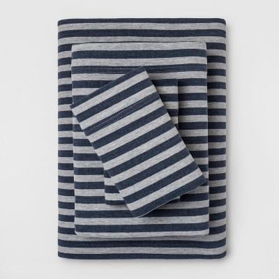 Cozy Brushed Printed Jersey Sheet Set - Threshold™