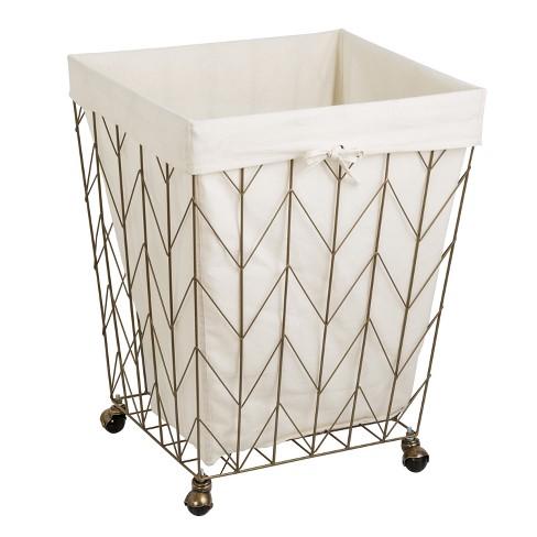 Honey Can Do Laundry Baskets Light Gold Target