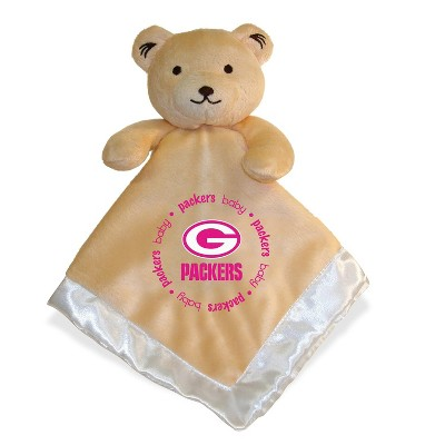 MasterPieces Inc Green Bay Packers NFL Plush Teddy Bear Baby Blanket