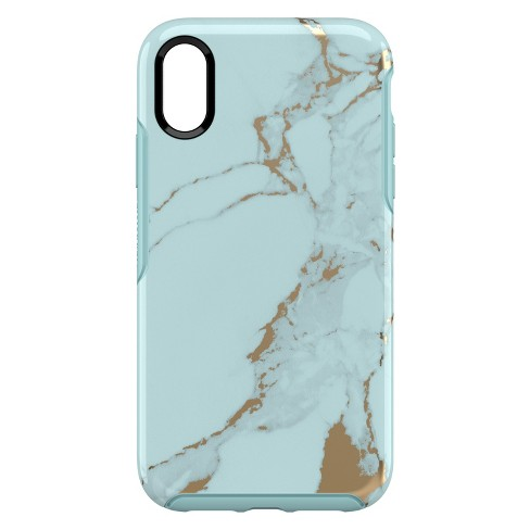 Otterbox Apple Iphone Xr Symmetry Case Teal Marble Target