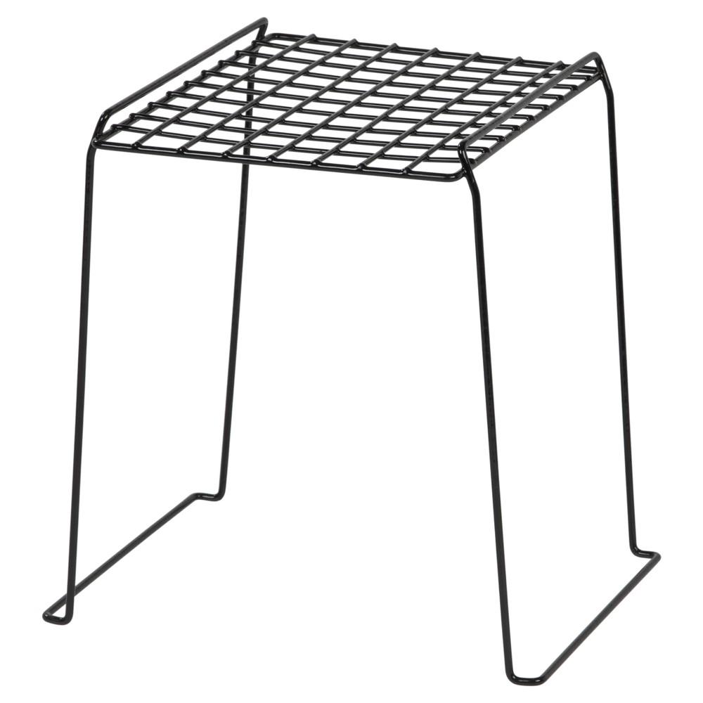 Iris 12 Wire Storage Locker Shelf - Black