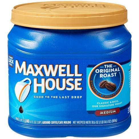 Maxwell House Original Medium Roast Ground Coffee - 30.6oz - image 1 of 4