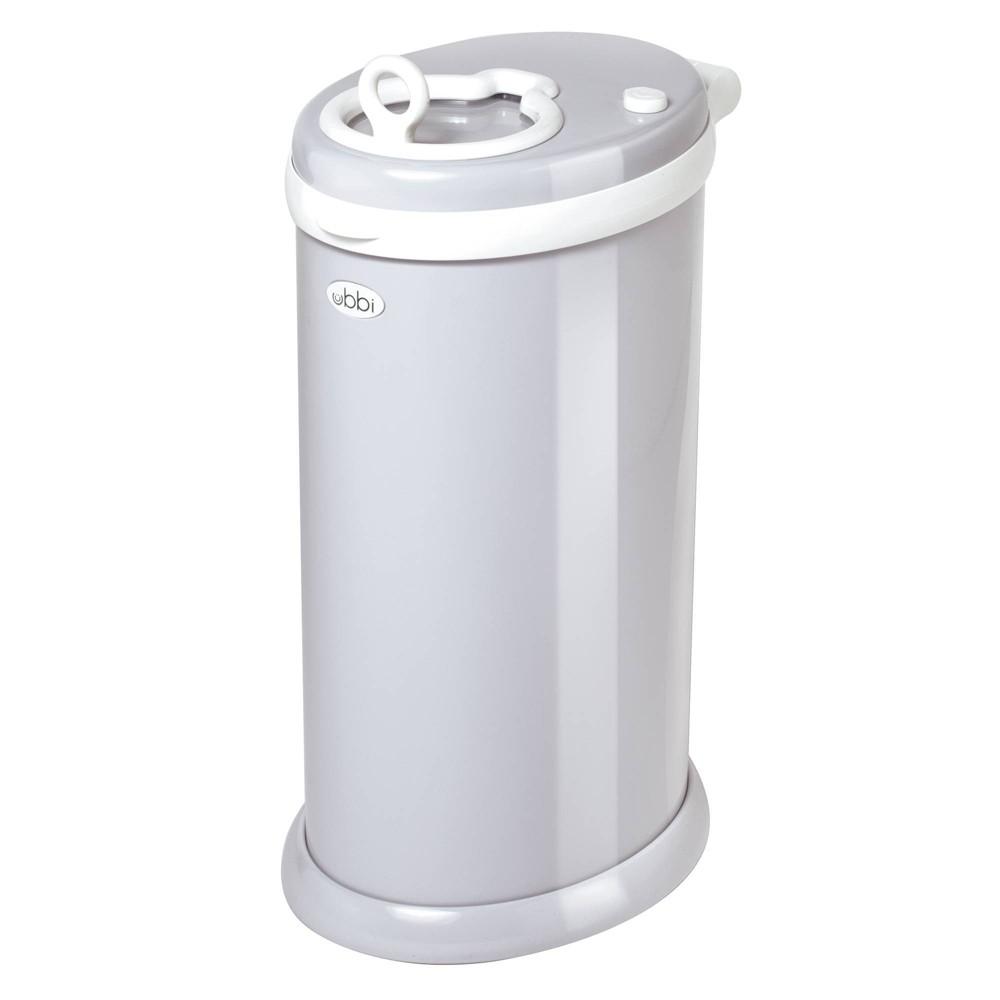 Image of Ubbi Steel Diaper Pail - Gray