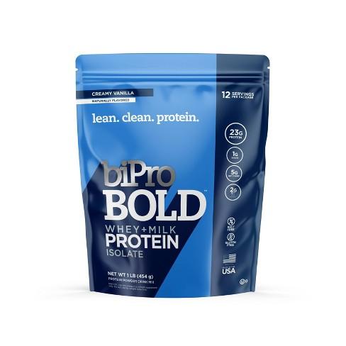 BiPro Bold Protein Powder - Creamy Vanilla – 1lb - image 1 of 4