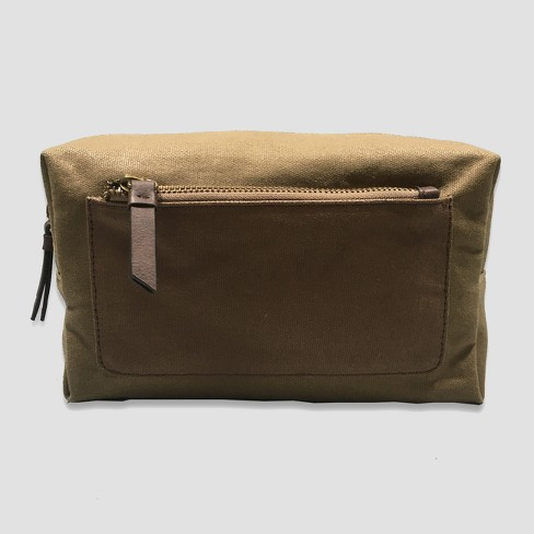 Waxed Canvas Toiletry Kit - Goodfellow & Co™ Brown - image 1 of 1