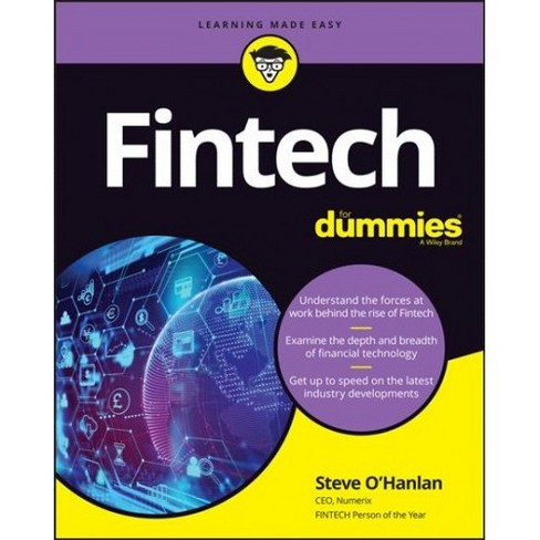Fintech for Dummies -  (For Dummies (Business & Personal Finance)) (Paperback) - image 1 of 1