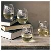 Halloween Bat Stemless Wine Glasses - 4ct - image 3 of 3