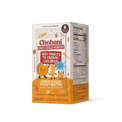 Chobani Super Peanut Blend Cookie Dough - 1.1oz/6pk