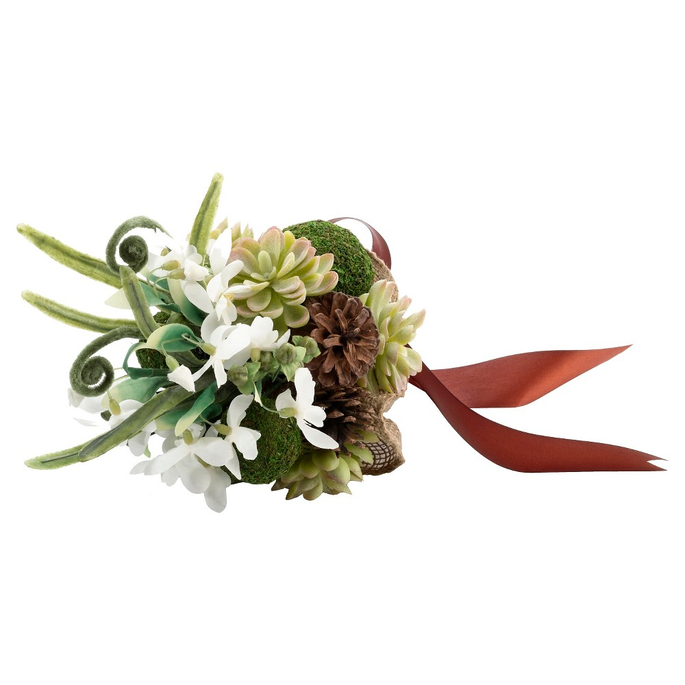 Image of Moss Bouquet, Green, Party Decorations and Accessories