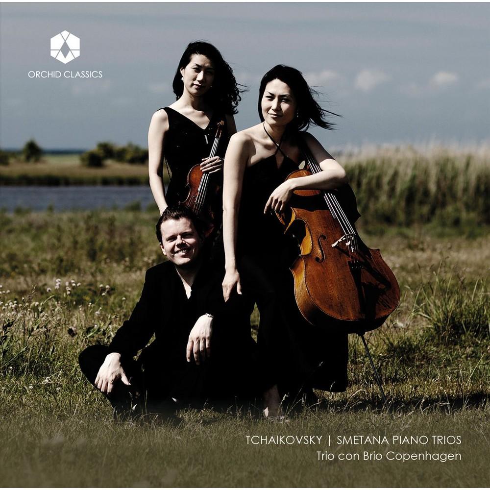 Trio Con Brio Copenh - Tchaikovsky/Smetana:Piano Trios (CD)