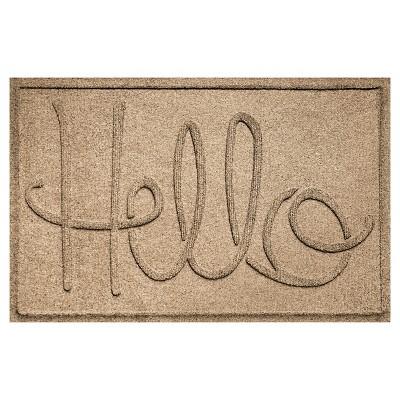 Camel Typography Pressed Doormat - (2'X3')- Bungalow Flooring