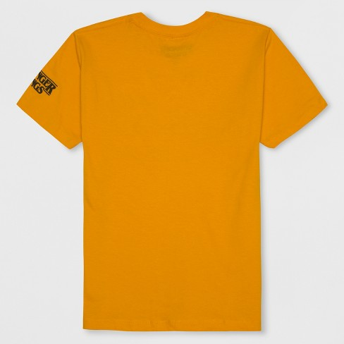 33028b14a6823 Boys  Stranger Things Dustin s Periodic Table Short Sleeve Graphic T-Shirt  - Mustard Yellow   Target