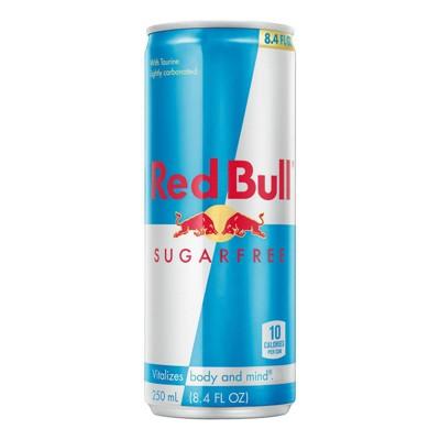 Red Bull Sugar Free Energy Drink - 8.4 fl oz Can