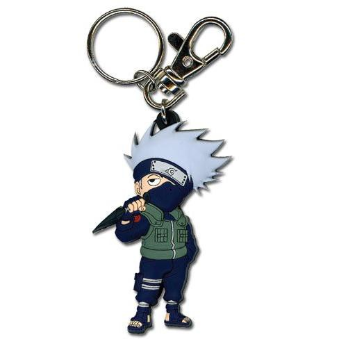 Great Eastern Naruto Shippuden SD Kakashi PVC Keychain - image 1 of 1