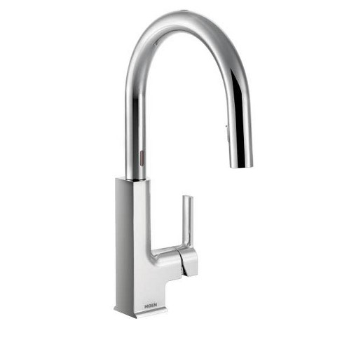 Strange Moen S72308E Sto Metal Touchless Conceald Pulldown Spray High Arc Kitchen Faucet Download Free Architecture Designs Aeocymadebymaigaardcom