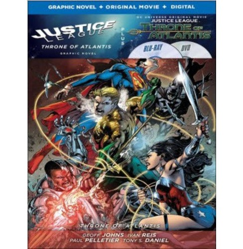 Justice League: Throne of Atlantis w/ Justice League Vol. 3 (Blu-ray) - image 1 of 1