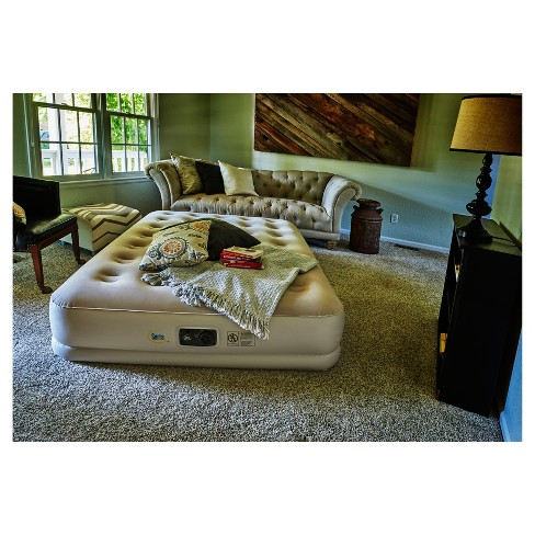 Serta 16 Raised Queen Size Airbed With Internal Ac Pump Target