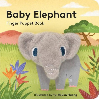 Baby Elephant: Finger Puppet Book - (Board Book)