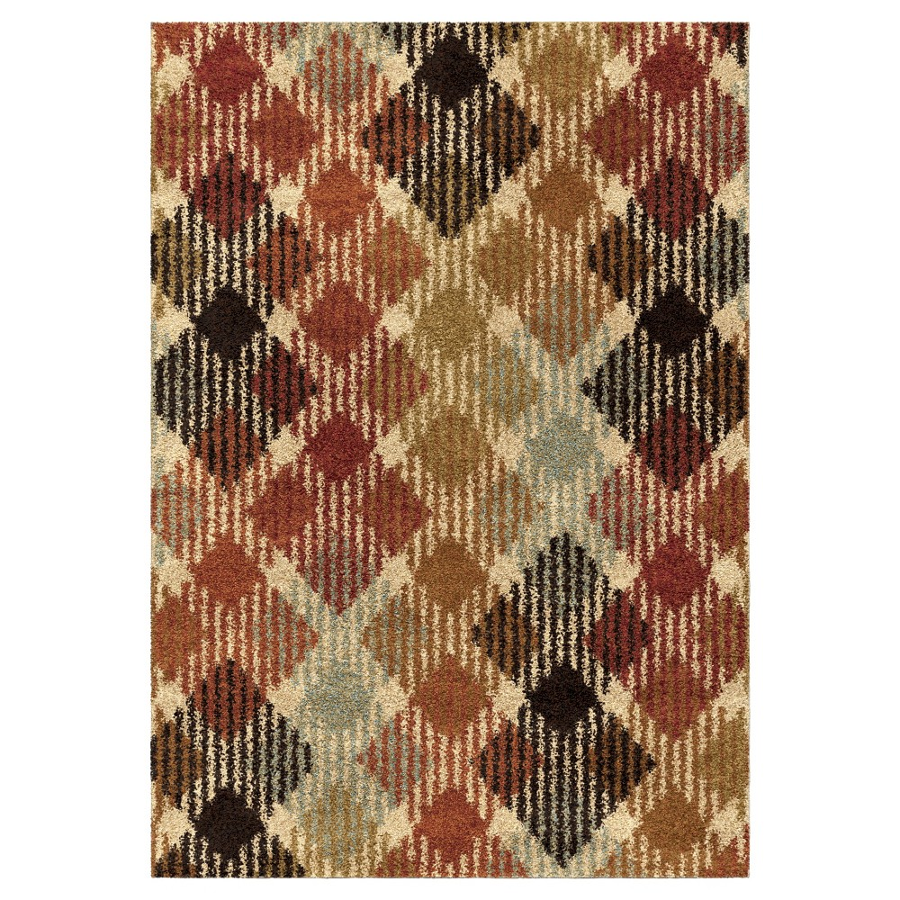 Solid Woven Area Rug - (5'3