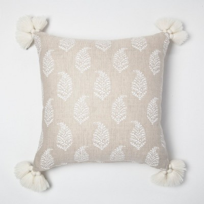 Cream Paisley Throw Pillow - Threshold™