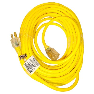 Sun Joe 14 Gauge 50 Foot Low Temp Extension Cord with Lighted End