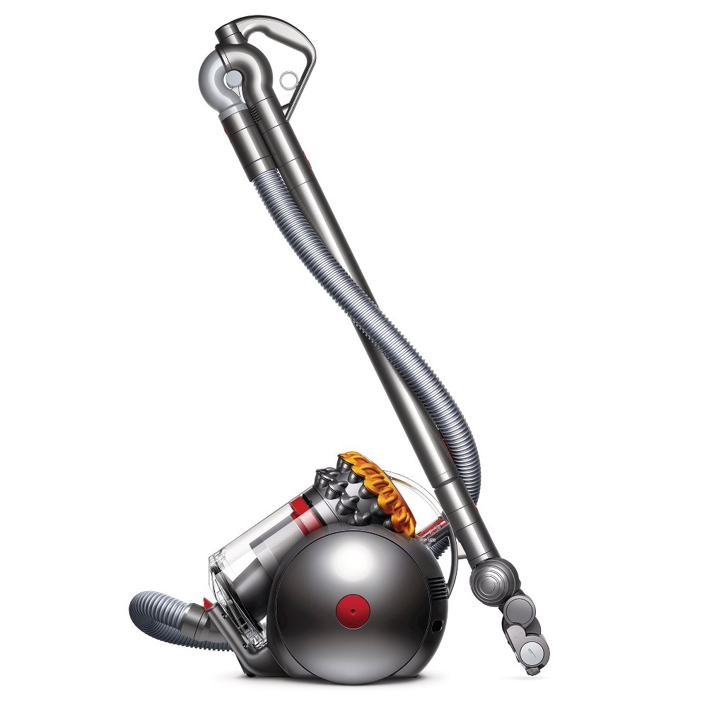 Image of Dyson Big Ball Canister Vacuum, Yellow Gray