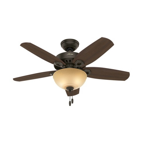 "42"" Builder Small Room LED Lighted Ceiling Fan Bronze - Hunter Fan - image 1 of 4"