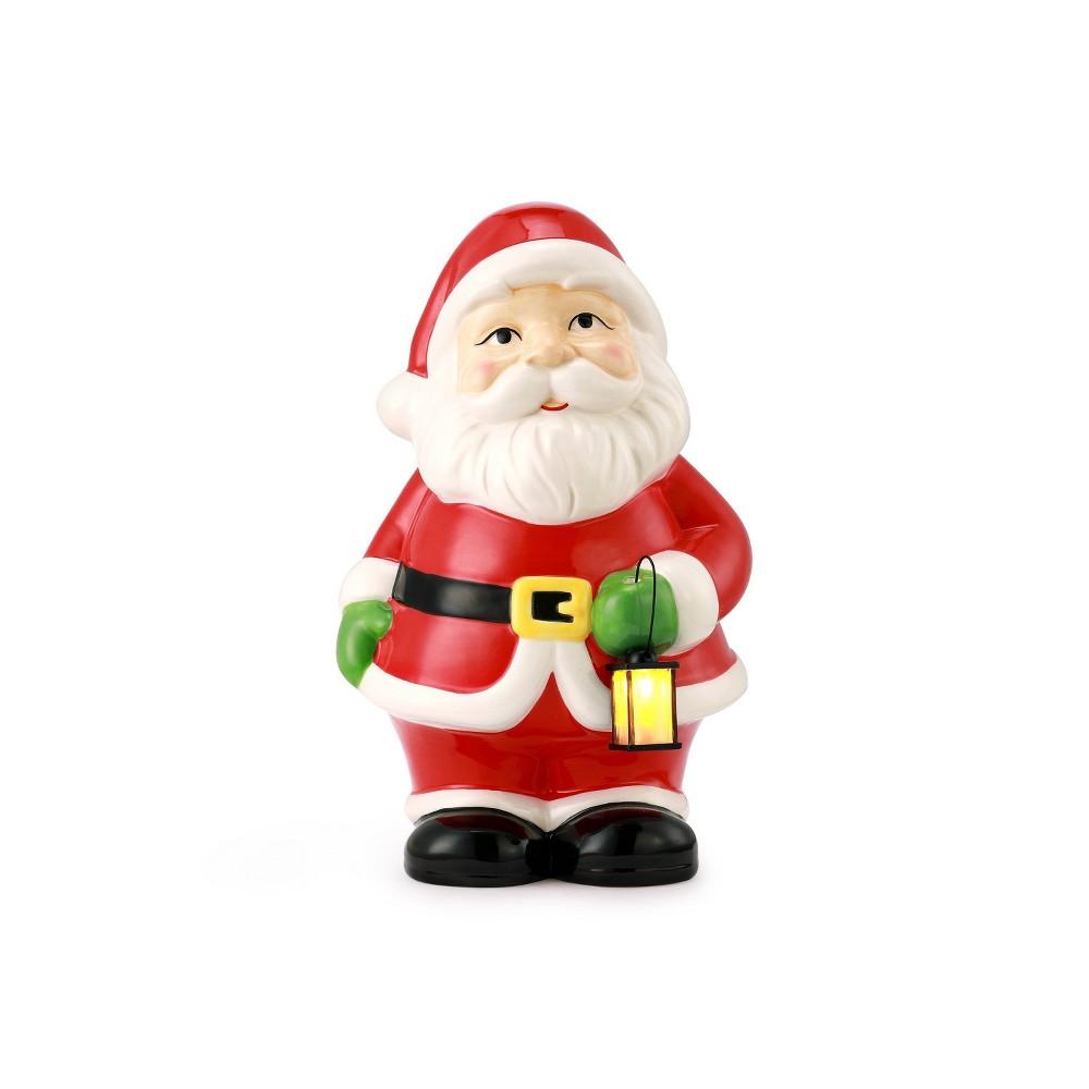 Image of Porcelain Santa Decorative Figurine - Mr. Christmas