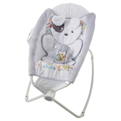 Fisher-Price Sweet Snugapuppy Dreams Deluxe Rock 'n Play Sleeper