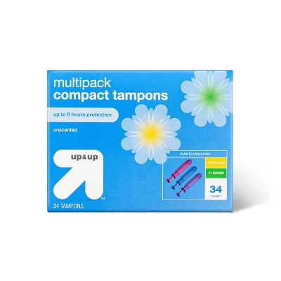 Click Combo Tampons 34ct - up & up™