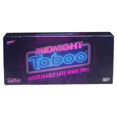 Taboo Midnight Board Game