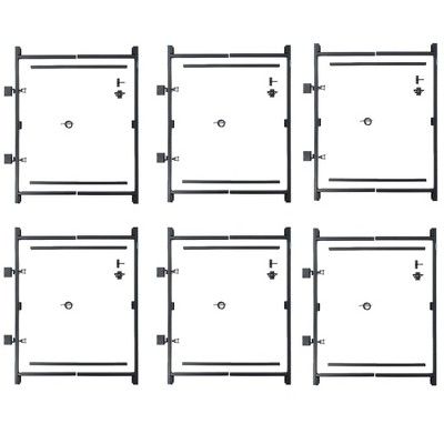 "Adjust-A-Gate Steel Frame Gate Kit, 36""-60"" Wide Opening Up To 7' High (6 Pack)"