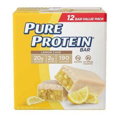 Pure Protein Bar - Lemon Cake - 12ct