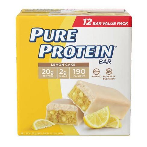 Pure Protein Bar - Lemon Cake - 12ct - image 1 of 3