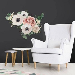 Fresh Floral Peel and Stick Giant Wall Decal - RoomMates