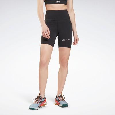 Reebok Les Mills® Beyond the Sweat Bike Shorts Womens Athletic Shorts