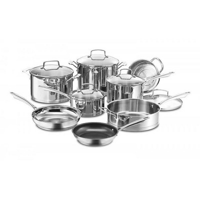 Cuisinart Professional Series 13pc Stainless Cookware Set - 89-13