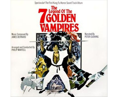 James Bernard - Legend Of The 7 Golden Vampires (Vinyl) - image 1 of 1