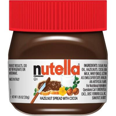 Nutella Holiday Mini Chocolate Hazelnut Spread - 1oz
