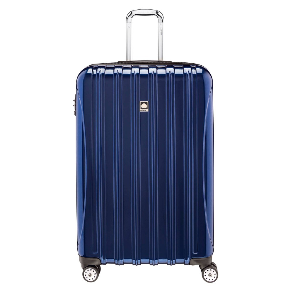 "Image of ""DELSEY Paris Aero 29"""" Expandable Spinner Upright Suitcase - Blue"""