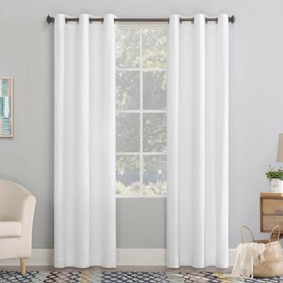 Lindstrom Textured Draft Shield Fleece Insulated Energy Saving Grommet Top Room Darkening Curtain Panel - No. 918