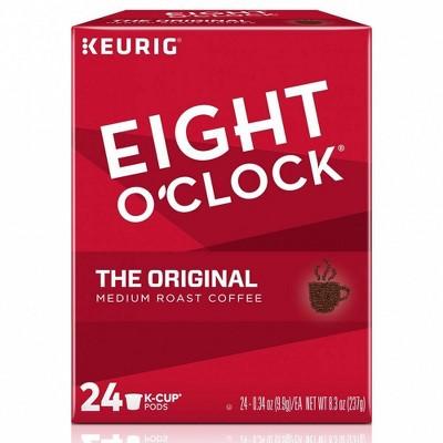 Eight O'Clock Original Medium Roast Coffee Pods - 24ct