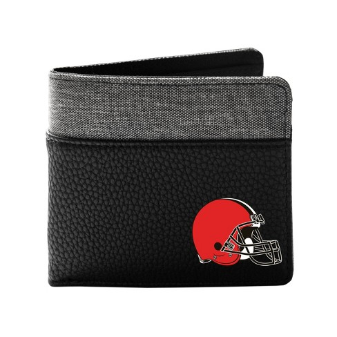 NFL Cleveland Browns Pebble BiFold Wallet - image 1 of 2