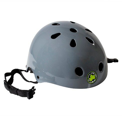 Maple Aggressive Helmet - Shiny Gray - image 1 of 2