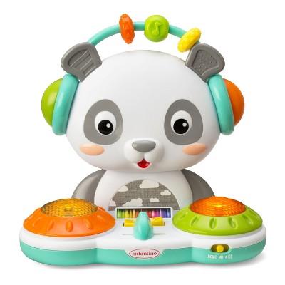 Infantino Gaga Spin & Slide DJ Panda Baby and Toddler Learning Toy