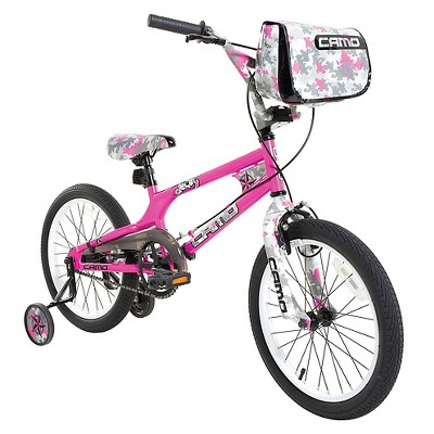"Dynacraft Camo Decoy 18"" Kids' Bike - Pink"