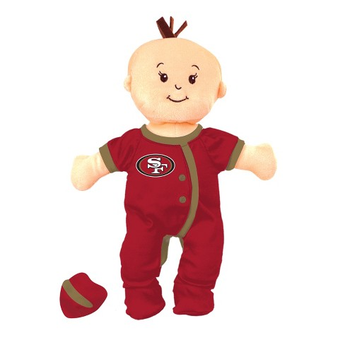 NFL San Francisco 49Ers Wee Baby Stella Doll - image 1 of 1