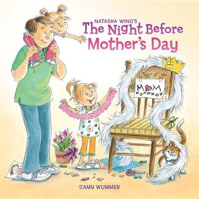 The Night Before Mother's Day ( Reading Railroad)(Paperback)by Natasha Wing